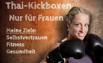 Thai-Kickboxen für Frauen in Tempelhof - Mariendorf
